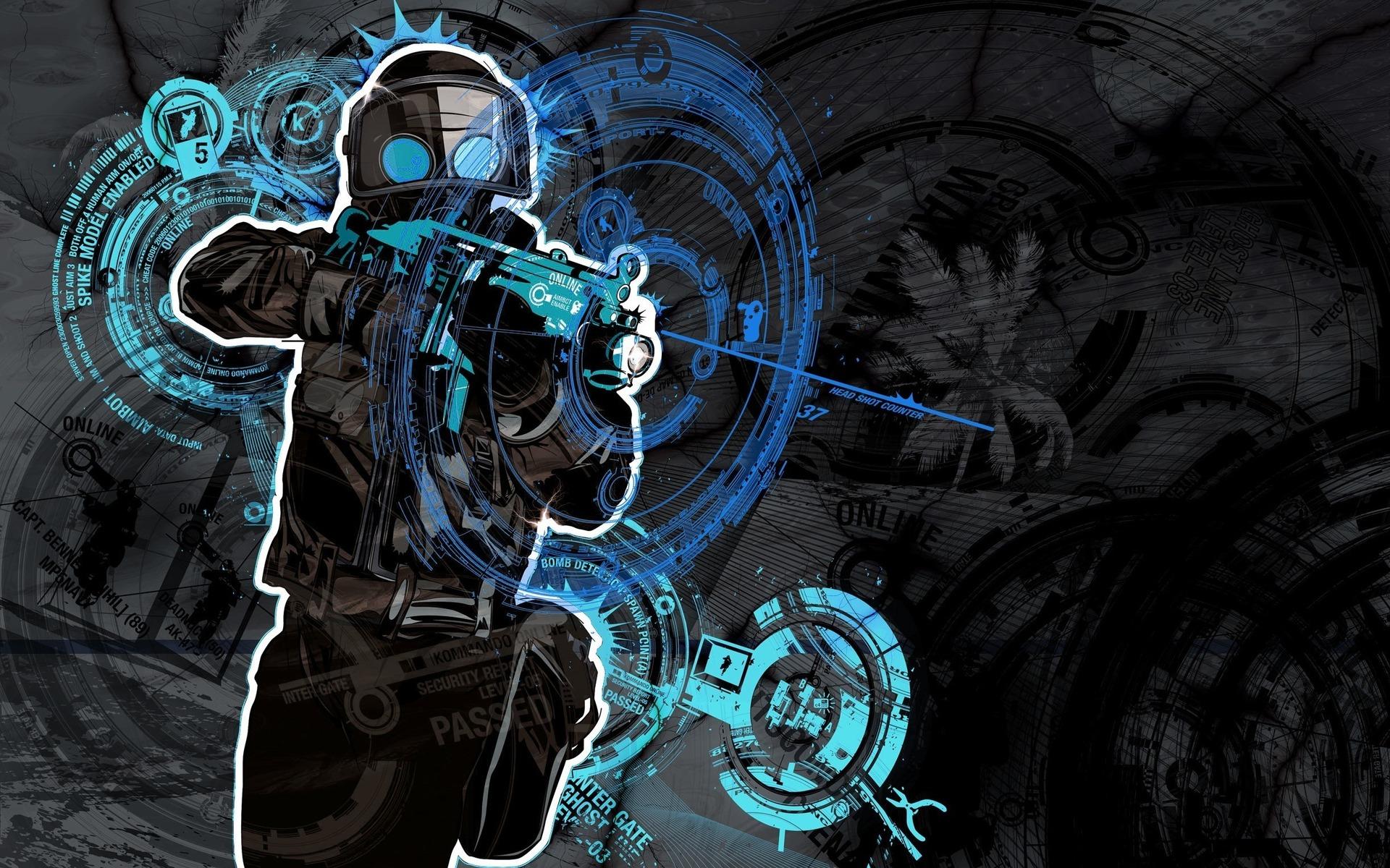 Counter Strike Hd Widescreen Wallpaper Myhacks4you